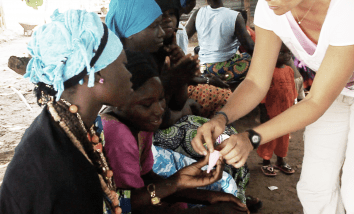 Intimina helps bring menstrual cups to women in Gambia