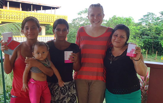 intimina charity work menstrual hygiene