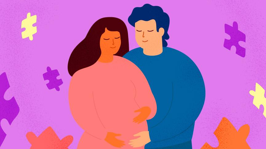 Final trimester of pregnancy
