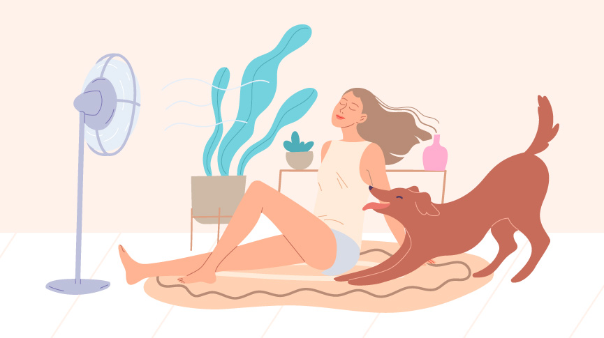 Does hot weather make your period worse?