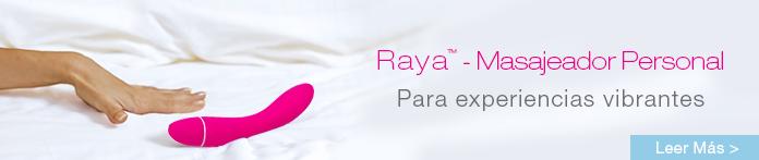 Masajeador personal Raya - Para experiencias vibrantes