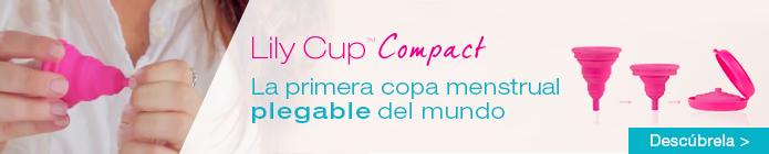 Lily Cup Compact - La primera copa menstrual plegable del mundo
