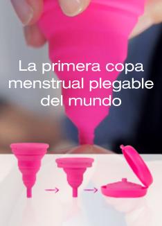 La primera copa menstrual plegable del mundo