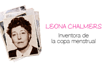 Leona Chalmers, creadora de la copa menstrual