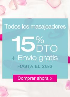 15% dto + envío gratis - San valentín