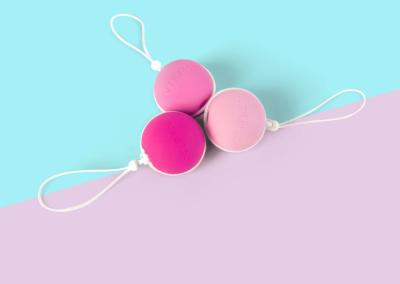 INTIMINA Lassele - Vaginalni utezi za jačanje mišića zdjelice